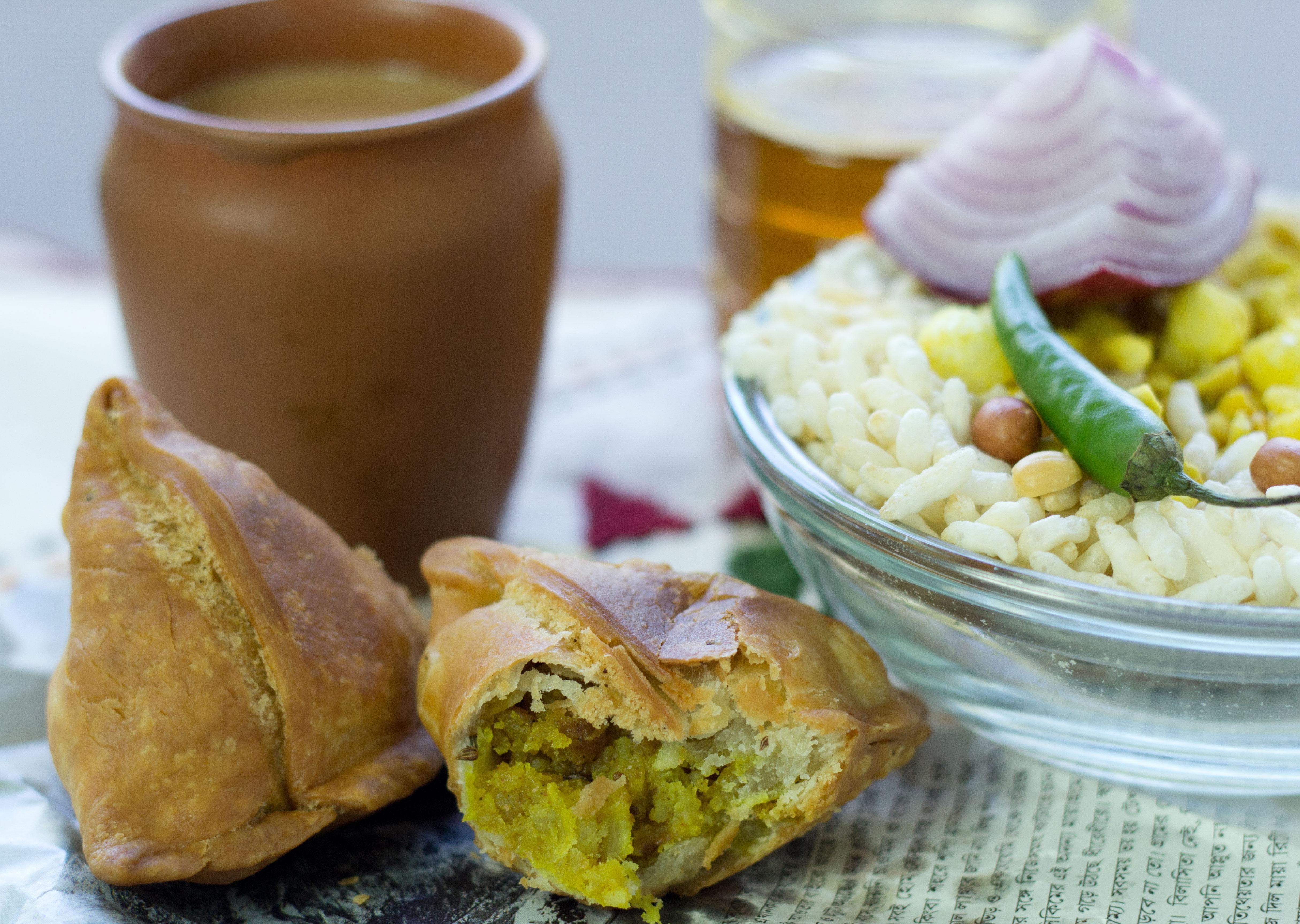 Shingara or Vegetable Samosa