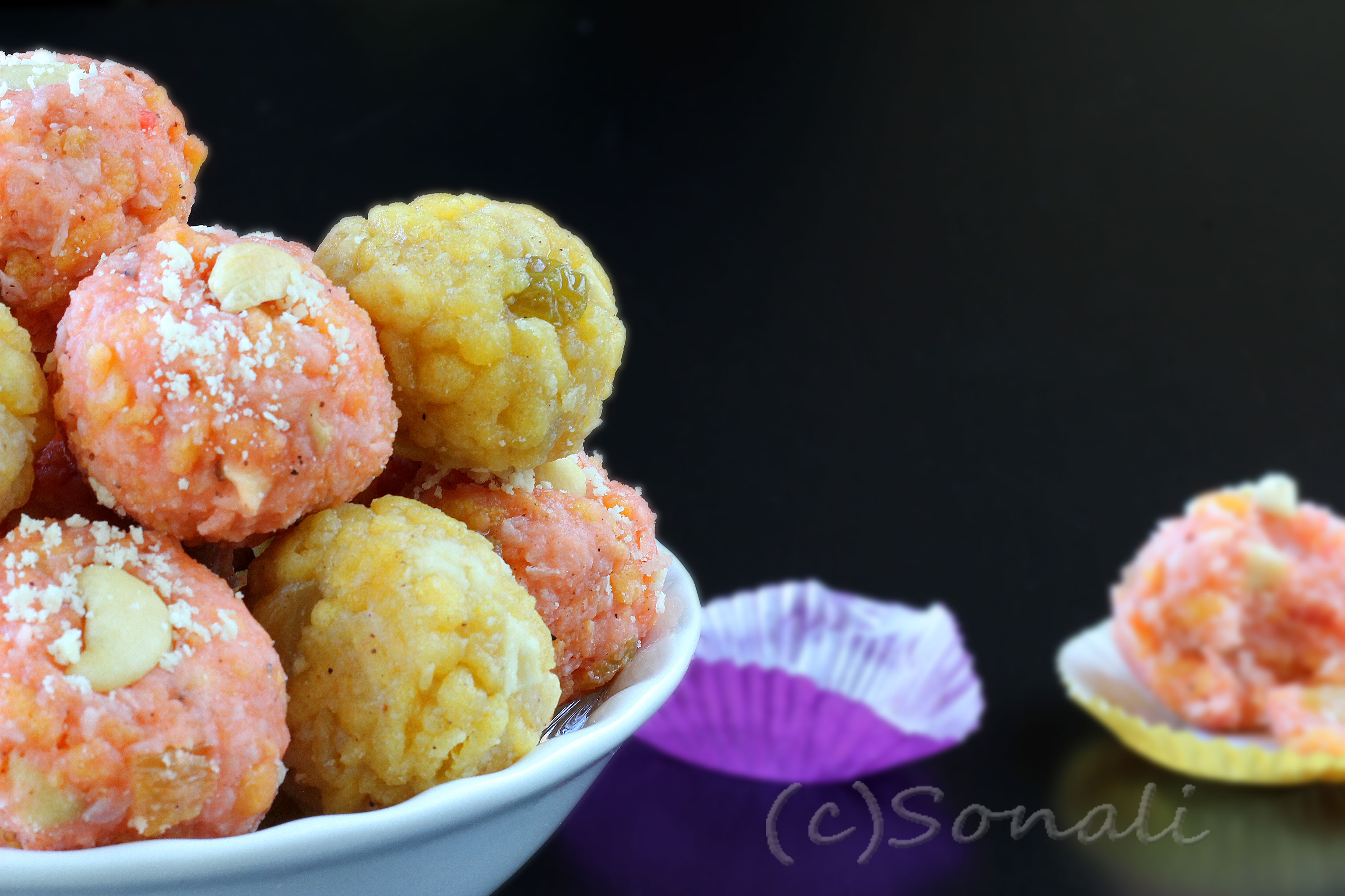 Dorbesh or Boondi Laddu and Shubho Bijoya !!!