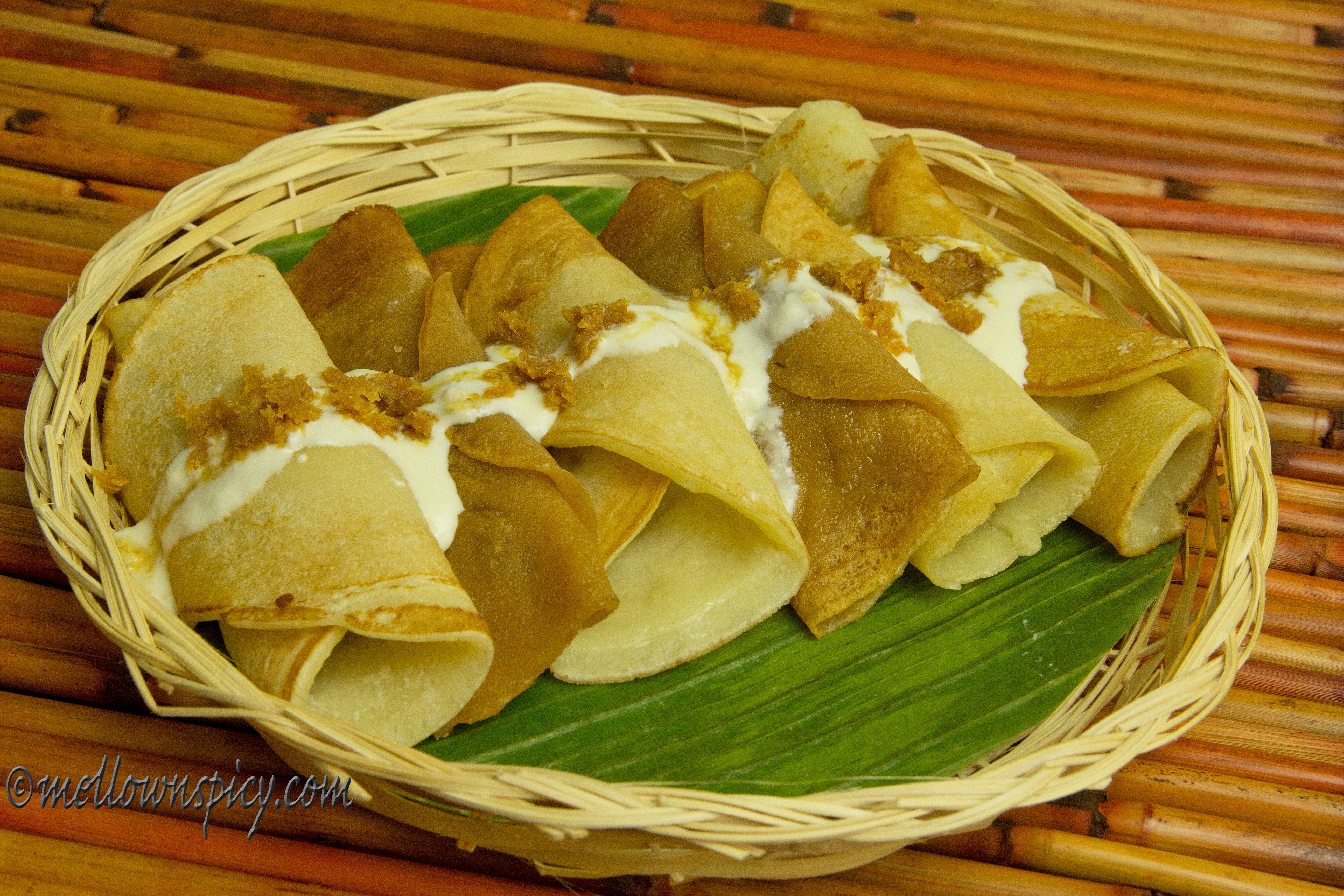 Patishapta:Indian Crêpes with Sweet Coconut Filling
