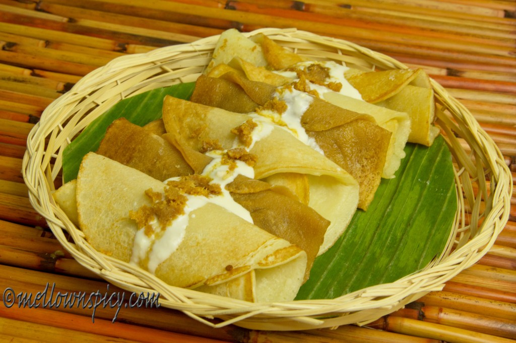 Patishapta:Indian Crêpes with Sweet Coconut Filling |