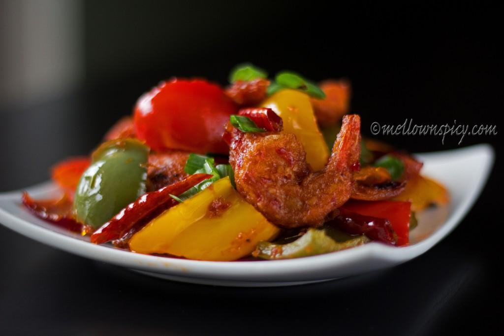 Szechuan style Shrimp