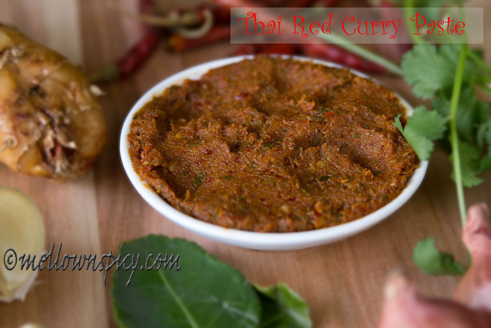 Thai Red Curry Paste |