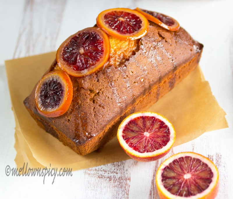 Blood Orange Olive Oil Cake |