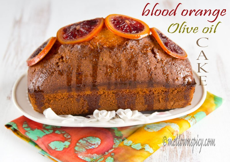 Blood Orange Olive Oil Cake Smitten Kitchen