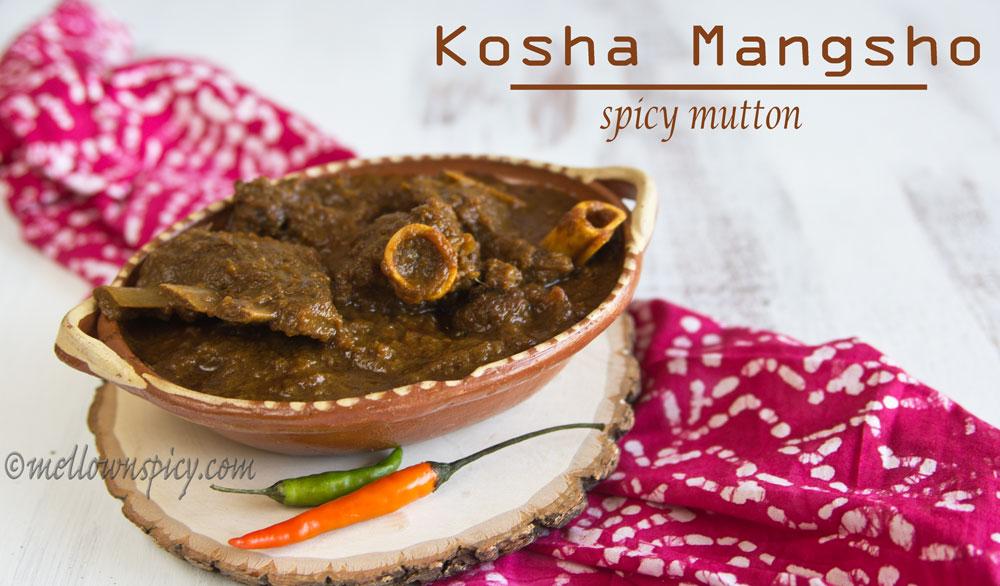 Kosha Mangsho spicy mutton