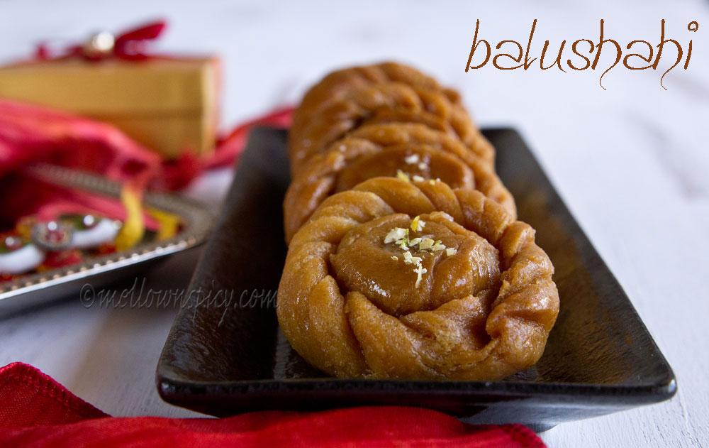 Balushahi : Indian fried dumpling |Sweet|