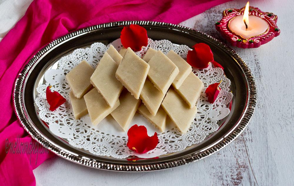 Kaju Katli : Cashew Fudge |Sweet|
