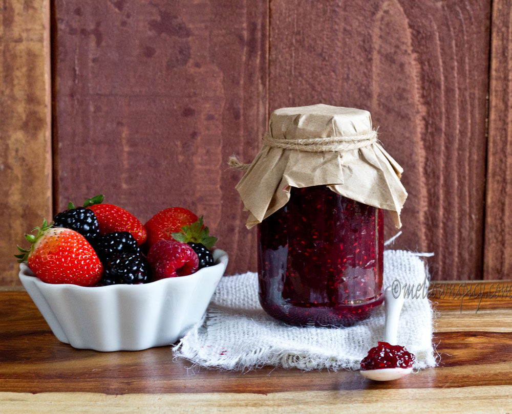 Spiced Mixed Berry Jam |Jam, Jelly and Preserves|