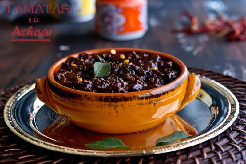 Tomato With Pickeling Spices (Tamatar Ka Achar) Recipes — Dishmaps
