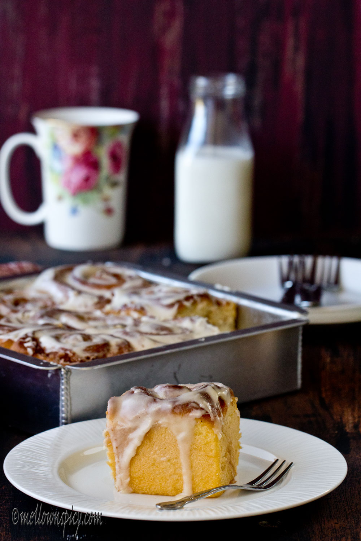 Cinnamon Rolls |Yeast Bread|