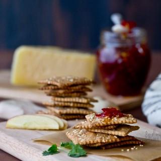 Mult-Grain Sesame Seeds Crackers