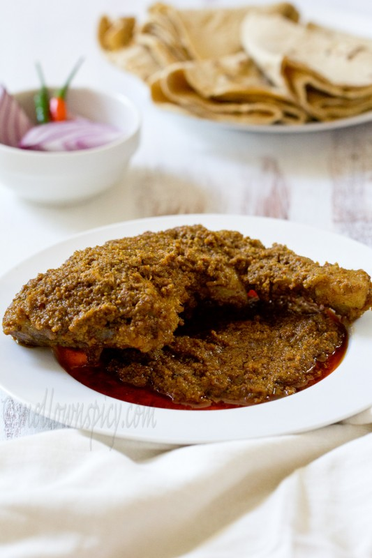 Chicken chaanp chicken cooked in awadhi style cooking for Awadhi cuisine kolkata