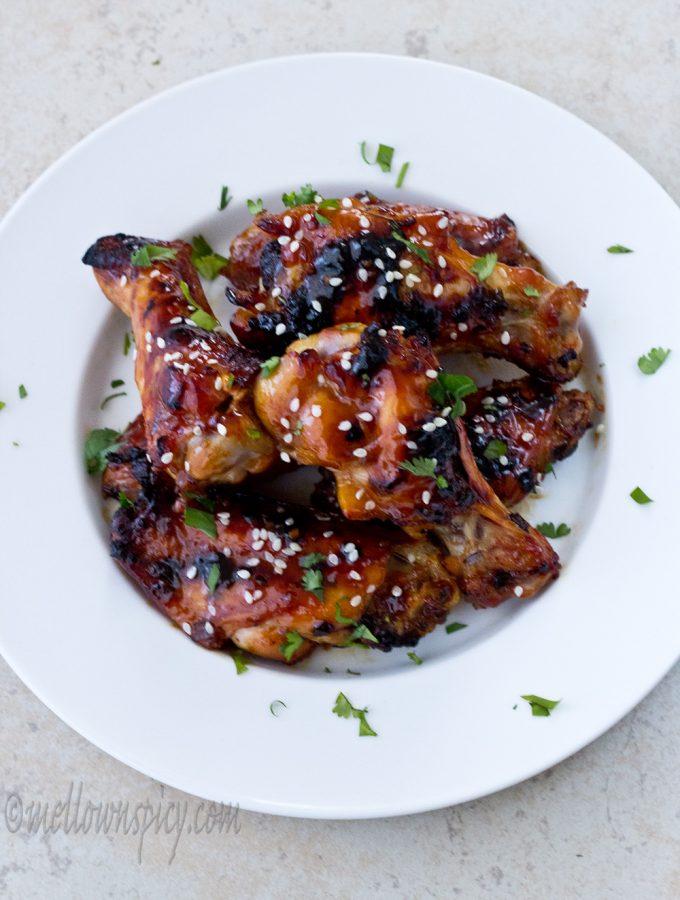 Teriyaki Chicken Wings Baked