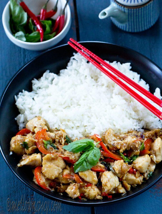 Best Thai Style Spicy Chicken Recipe
