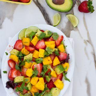 Best Strawberry Mango Avocado Salad
