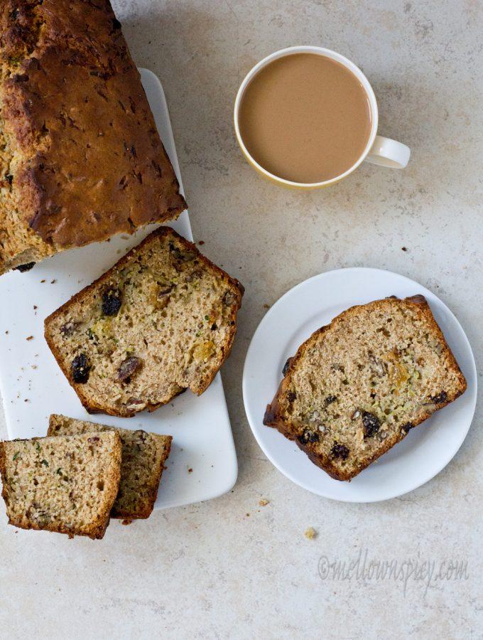 Spiced Zucchini Bread |Baking|