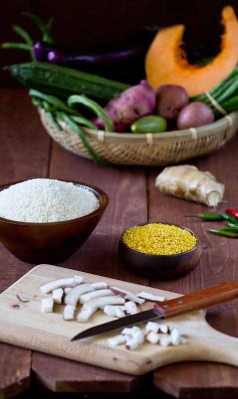 Bhoger Khichuri Ingredients
