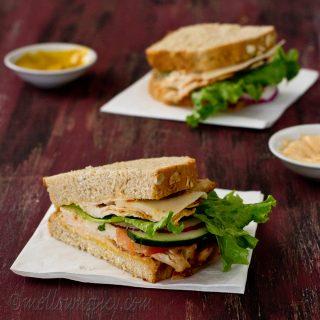 Chicken and Cheese Sandwich