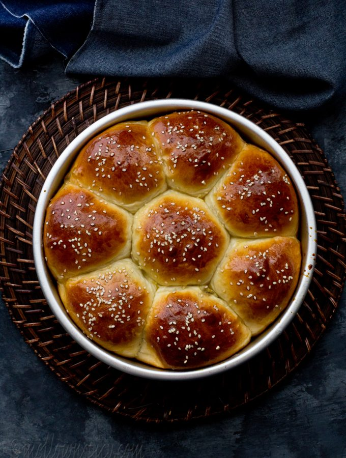 Masala Buns : Buns Stuffed with Spicy Filling |Yeast Bread|