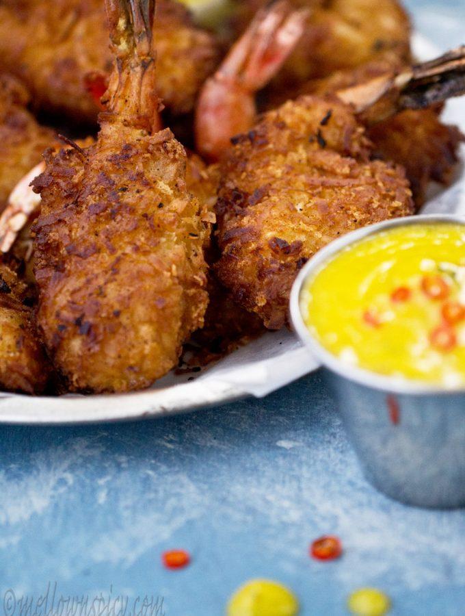 Coconut Shrimp |Snacks|