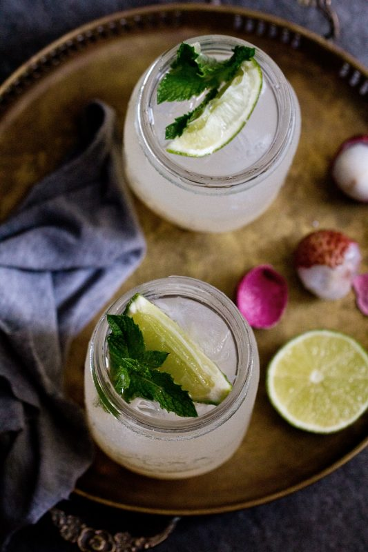 Lychee Lime Drink