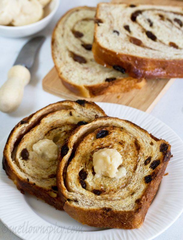 How to make a Cinnamon Swirl Raisin Bread