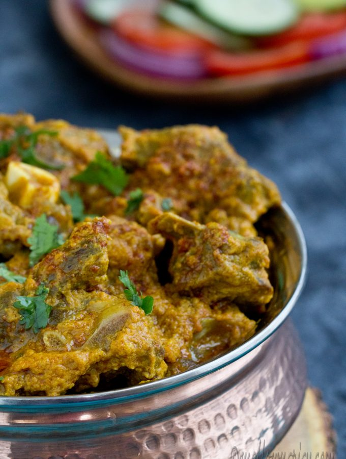 Mutton Handi : Goat Meat Cooked in a Pot |Cooking|