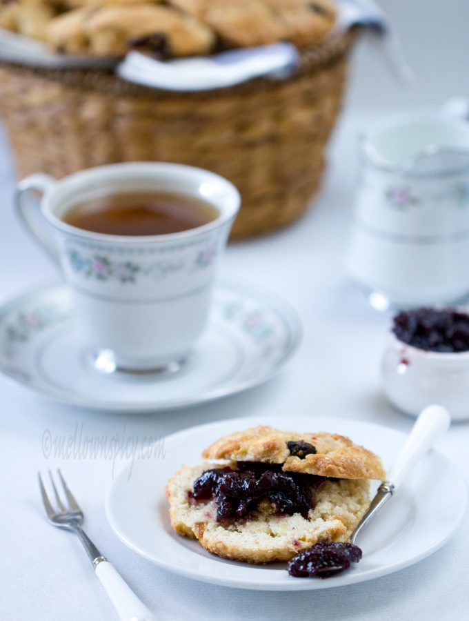 Apple Raisin Scones |Baking|