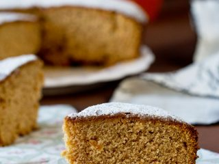Whole wheat Orange Marmalade tea Cake